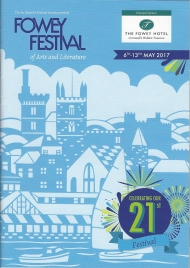 Fowey Festival of Arts and Literature 2017 began today