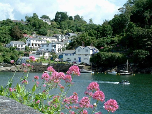 Ferryside viewed from Fowey