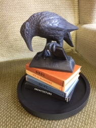 'Rook with a Book' replica sculptures