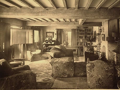 Ferryside sittingroom in years gone by